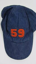 NEW Linea  House of Fraser lined winter  blue denim boys cap hat  age 2-4 YEARS