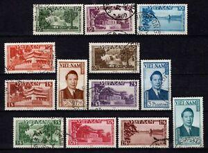 Viêt Nam - 1951 - Empereur Bao-Daï / sujets divers - N° 1 à 13 - Oblit - Used