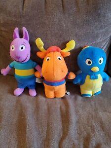 The Backyardigans 'Tyrone, Pablo & Austin' Plush toys