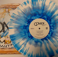 Confide - Recover Exclusive White With Blue Splatter & Deluxe CD Vinyl LP (NM-)