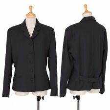 agnes b. Wool gabardine 5B Jacket Size 2(K-37905)