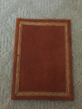 Vintage Gilt Leather Book Cover