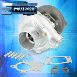 Universal Hybrid T3/T4 Turbo Charger .57 A/R Trim Stage III Turbocharger 400+ HP
