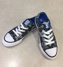 Zapatos Gris Azul Converse para Niñas | eBay