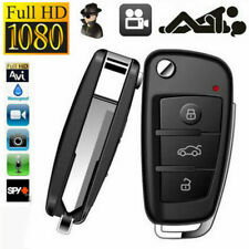 1280P HD Covert Hidden Key Chain Key Fob Spy Camera DVR  IR Night Vision Cam