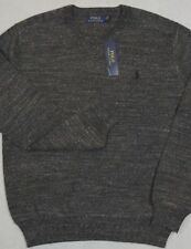 Polo Ralph Lauren Sweater Crewneck Pullover Charcoal Heather Size XL NWT