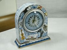 "A Wedgwood Bone China "" Millennium "" Mantle Clock just Stunning !!!!"