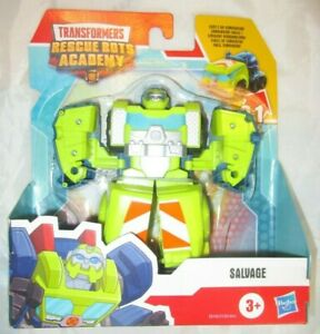 TRANSFORMERS Rescue Bots Academy SALVAGE FIGURE CEMENT MIXER TRUCK