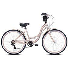 "Kent 26"" Bayside Comfort Cruiser Bike - New in the Box - Rose Gold - Shimano"