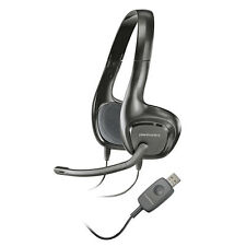 Plantronics .Audio 622 USB Stereo Over-The-Head Headphones for computer - TESTED
