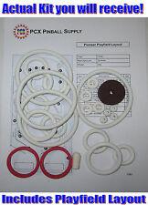 1976 Gottlieb Pioneer Pinball Machine Rubber Ring Kit
