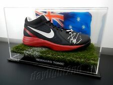 ✺Signed✺ BERNARD TOMIC Nike Tennis Shoe PROOF COA Australian Open 2018