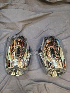 1955 1956 GMC pickup Front Bumper Bullets Guards Chrome Excellent