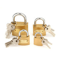 25/32/38/50mm Home Office Security Iron Padlock Key Lock For Door Drawer Luggage