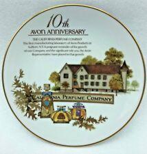 Avon The California Perfume Company - 10th An 00004000 niversary Avon Porcelain Plate