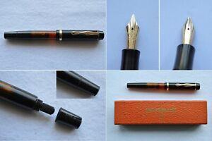 1940s Montblanc 234 1/2 G Fountain Pen 14C Flex OB Nib