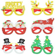CHRISTMAS NOVELTY GLASSES Traditional Festive Xmas Accessory Party Sunglasses