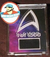STAR TREK 1 OF 1500 DS9 DEEP SPACE 9 WORF'S UNIFORM