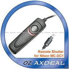 Remote Shutter Release for Nikon DSLR D70s D80 kit as MC-DC1 OZ