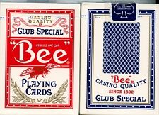 2 pack BEE Playing Cards Club Special - deck Poker No.92 Bicycle Poker palming