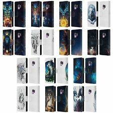 "JONAS ""JOJOESART"" JÖDICKE WILDLIFE 2 LEATHER BOOK CASE FOR SAMSUNG PHONES 1"