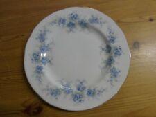Teller zum Sammelgedeck, Bone China Porzellan, Goldrand, Blumen Royal Standard