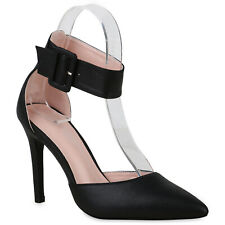 950f05d54bf0eb Damen Spitze Pumps Stiletto High Heels Metallic Party 830959 Schuhe