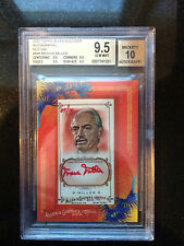 2010 TOPPS ALLEN AND GINTER AUTOGRAPHS RED INK MARVIN MILLER-GEM MINT HISTORIC