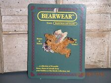 Boyds Bears 1995 ~Angelica With Lily~ Bearwear Pin Style# 2663