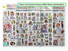 Sofia the First Stickers.Lolly bag favours, Party Prizes! **BUY 5 GET 5 FREE**