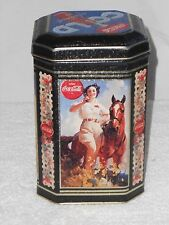COLLECTIBLE COCA COLA TIN Cold Refreshment