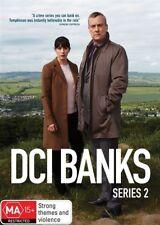 DCI BANKS (COMPLETE SERIES 2 - DVD SET SEALED + FREE POST)