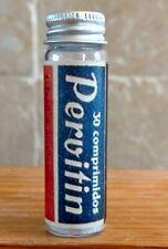 Vintage Medicine Hand Crafted Bottle, Pervitin (Hitler's Soldier's Drug) Meth,Co