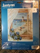 Ocean View from Window - Janlynn Counted Cross Stitch kit 023-0144