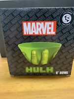 "Loot Crate Exclusive 6"" Bowl Marvel The Incredible Hulk Avengers Vandor New"