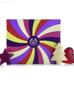 6pc The Body Shop Seasonal Soap Sensation Frosted Berries  Frosted Plum Vanilla