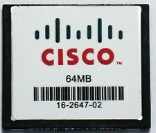 More details for mem1800-64cf 64mb flash memory for cisco 1841 1801 1811 genuine