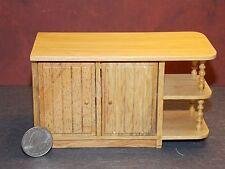Dollhouse Miniature Kitchen Center Island Oak 1:12 Scale K66 K67 Dollys Gallery