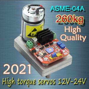 ASME -04A High power high torque servo the 12V~24V 260kg.cm 0.12s/60 Degree 1PCS