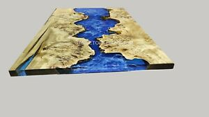 Epoxy Table, dining, Sofa, Epoxy Resin River Table Center Live Edge Table Tops