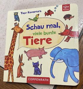 """Coppenrath """"Schau mal,viele bunte Tiere"""" 12 + Mon"""