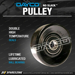 Dayco Idler Tensioner Pulley for Jeep Grand Cherokee KJ KK WG WH WJ Steel