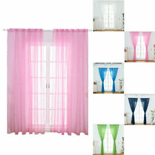 Star Tulle Curtains Modern Window Curtains for Living Room Transparent Tulle New