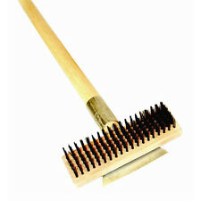 Thunder Group Wdbs027H, 27-Inch Heavy Duty Steel Wire Brush with Scraper & Long