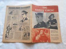 THE FAMILY CIRCLE Magazine-MARCH 6,1936-MYRNA LOY-JAMES STEWART