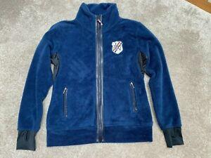 John Whitaker Super Soft Fleece Blue with Emblem front & rear 2 way zip M / 12