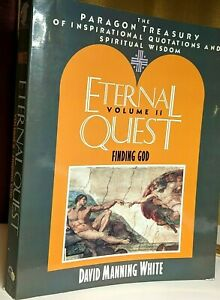 Eternal Quest Volume 2 Finding God 1992 Inspirational Quotes David Manning White