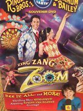 Ringling Bros. Barnum & Bailey Zing Zang Zoom DVD Animals Rare