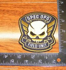 Resident Evil Raccoon City Spec Ops Field Unit Embroidered Patch **BRAND NEW**