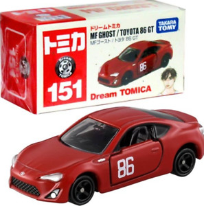 Takara Tomy Dream Tomica Diecast Model Car - No.151 MF Ghost Toyota GT86